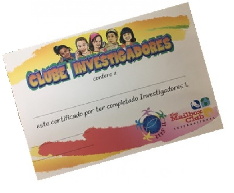 Certificado Clube Investigadores