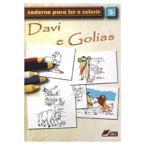 Davi e Golías - Caderno Para Ler e Colorir - Vol 5