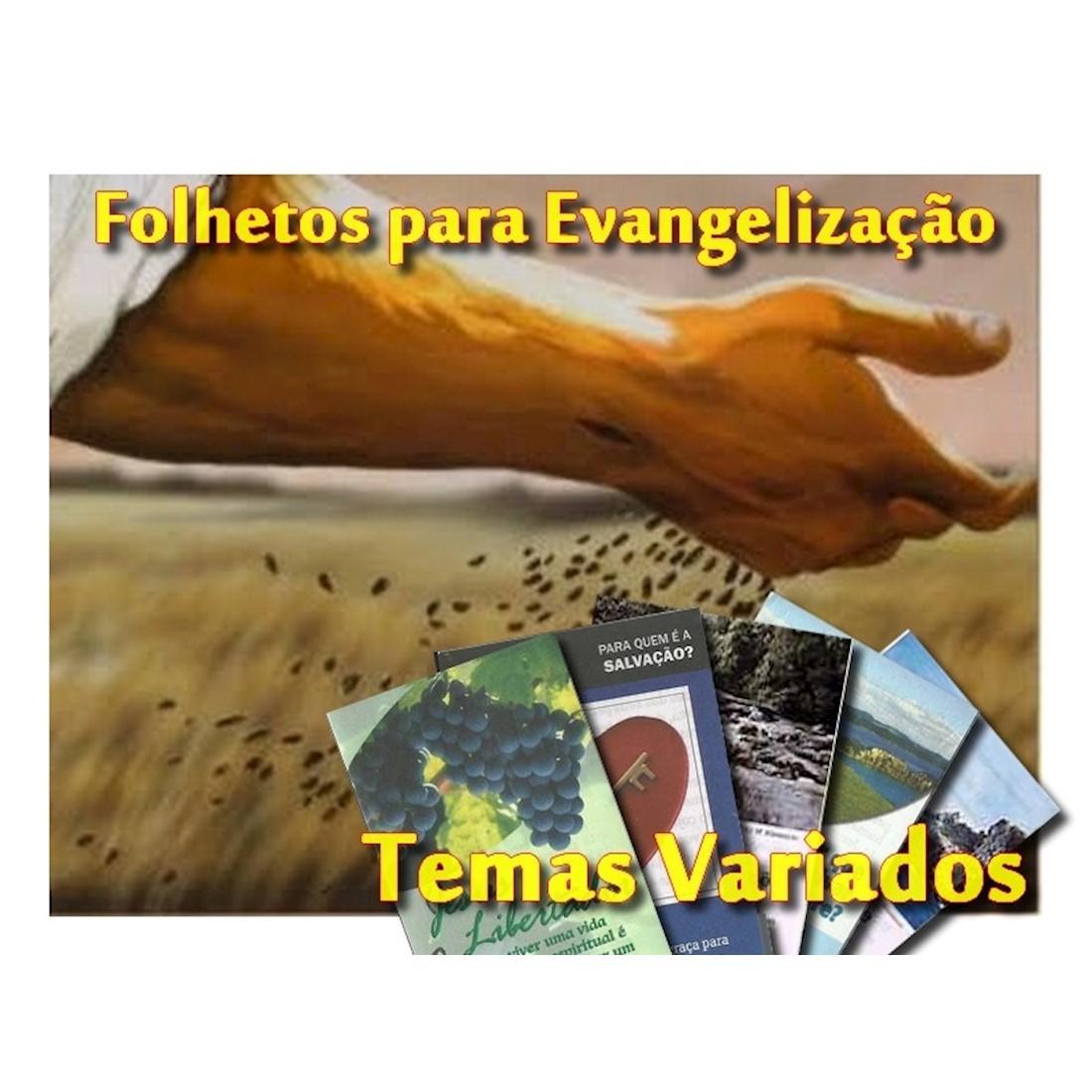 Folhetos Seleções Bíblicas - Série Eu Sou - Milheiro