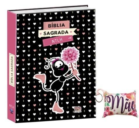 KIT: BÍBLIA SMILINGUIDO COM CHAVEIRO (Capa Brochura)