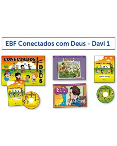 Kit EBF Conectados Com Deus