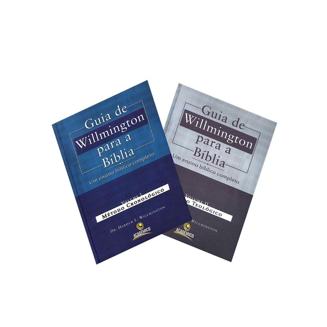 Kit Livro Guia de Willmington Para a Bíblia - Vol. I e II