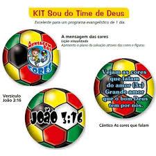 Kit Sou do Time de Deus