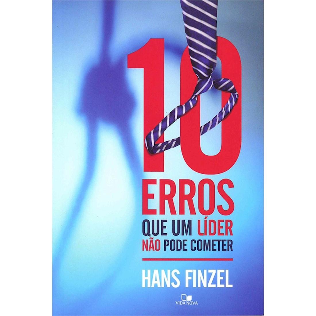 Livro 10 Erros que um Líder Não Pode Cometer