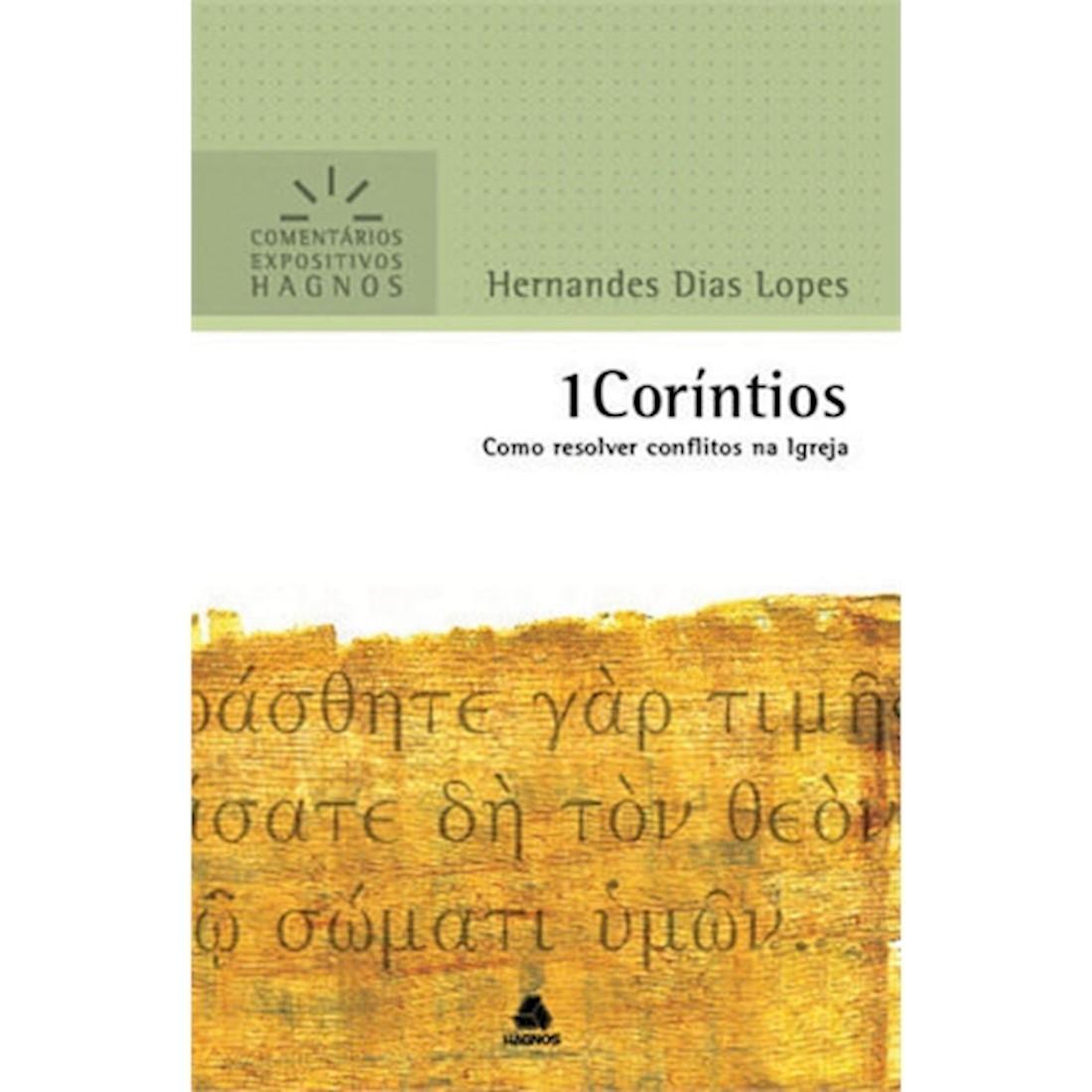 Livro 1 Coríntios   Comentários Expositivos Hagnos