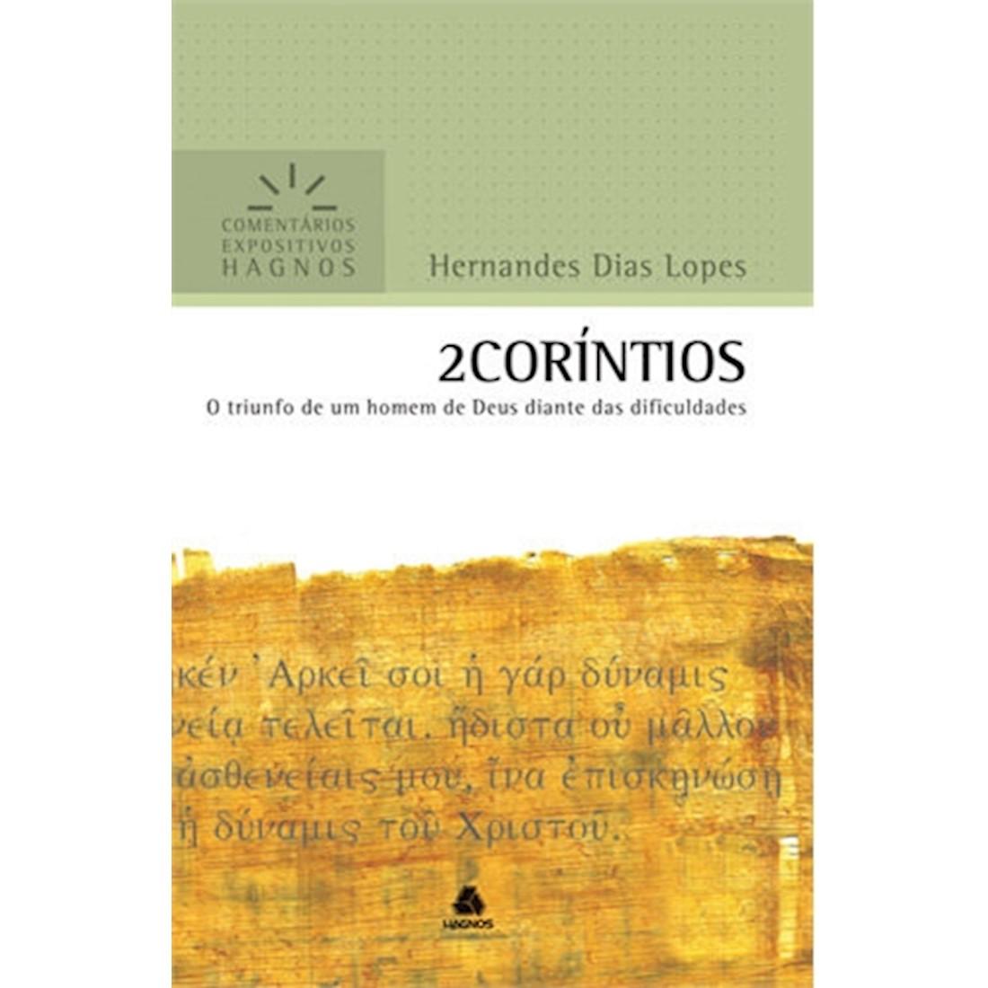 Livro 2 Coríntios | Comentários Expositivos Hagnos