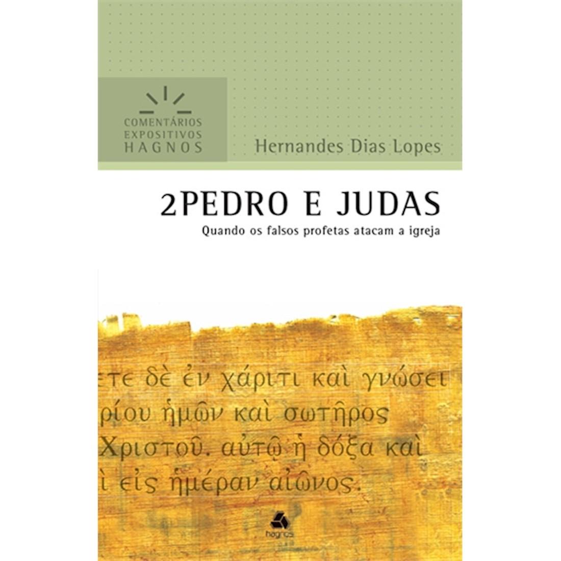 Livro 2 Pedro e Judas   Comentários Expositivos Hagnos