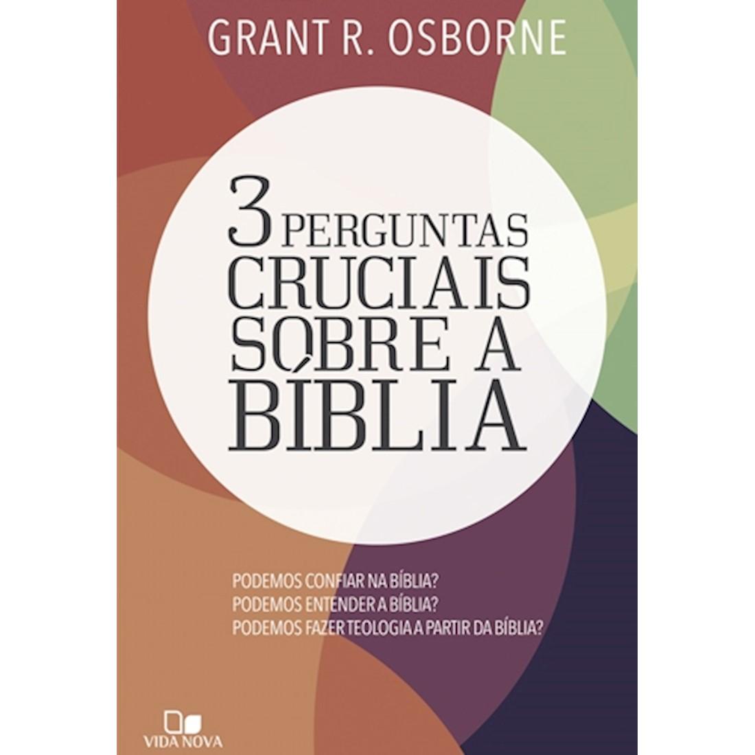 Livro 3 Perguntas Cruciais Sobre a Bíblia