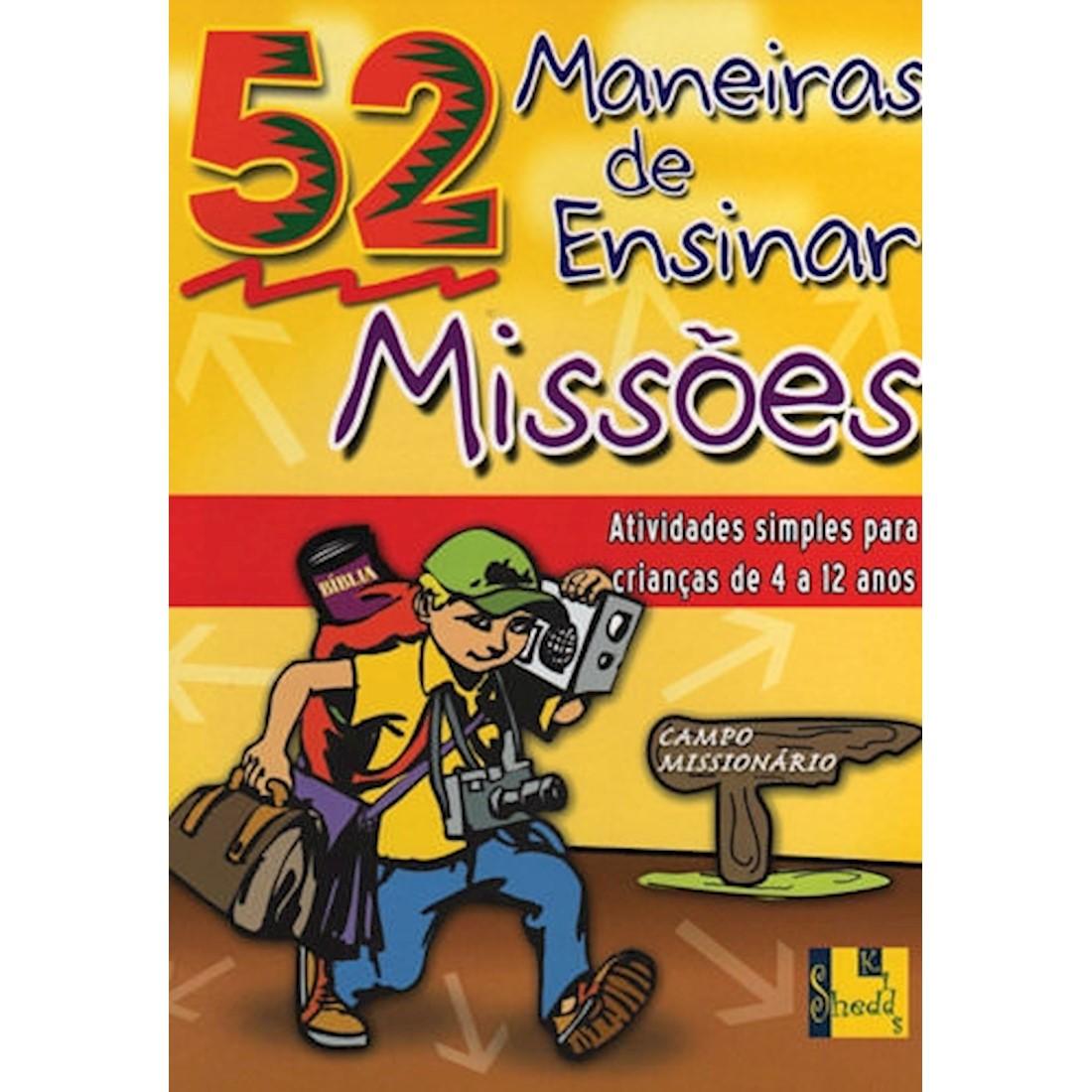 Livro 52 Maneiras de Ensinar Missões