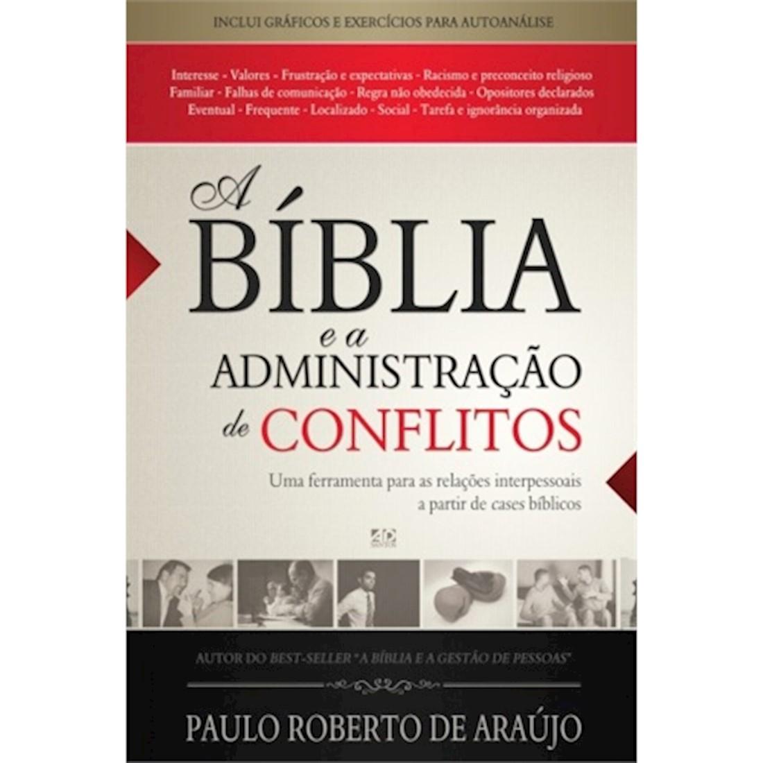 Livro A Bíblia e a Administração de Conflitos