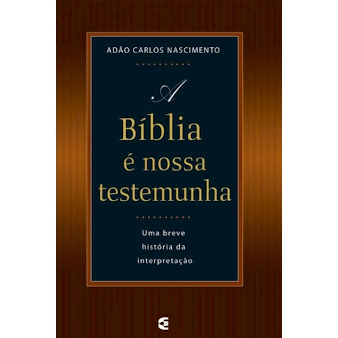 Livro A Bíblia é Nossa Testemunha