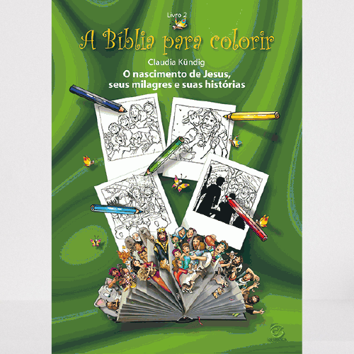 Livro A Bíblia para Colorir