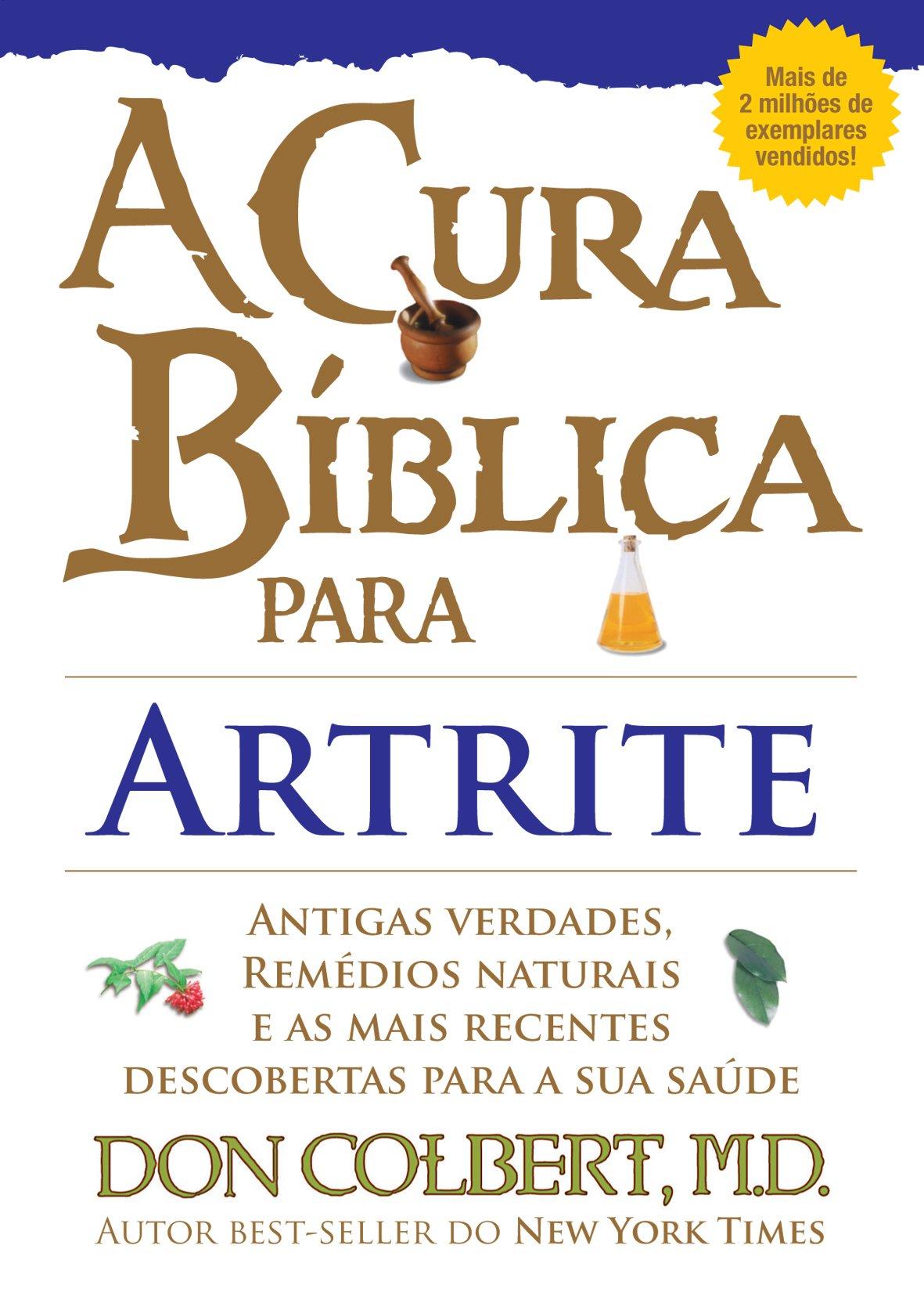 Livro A Cura Bíblica Para Artrite