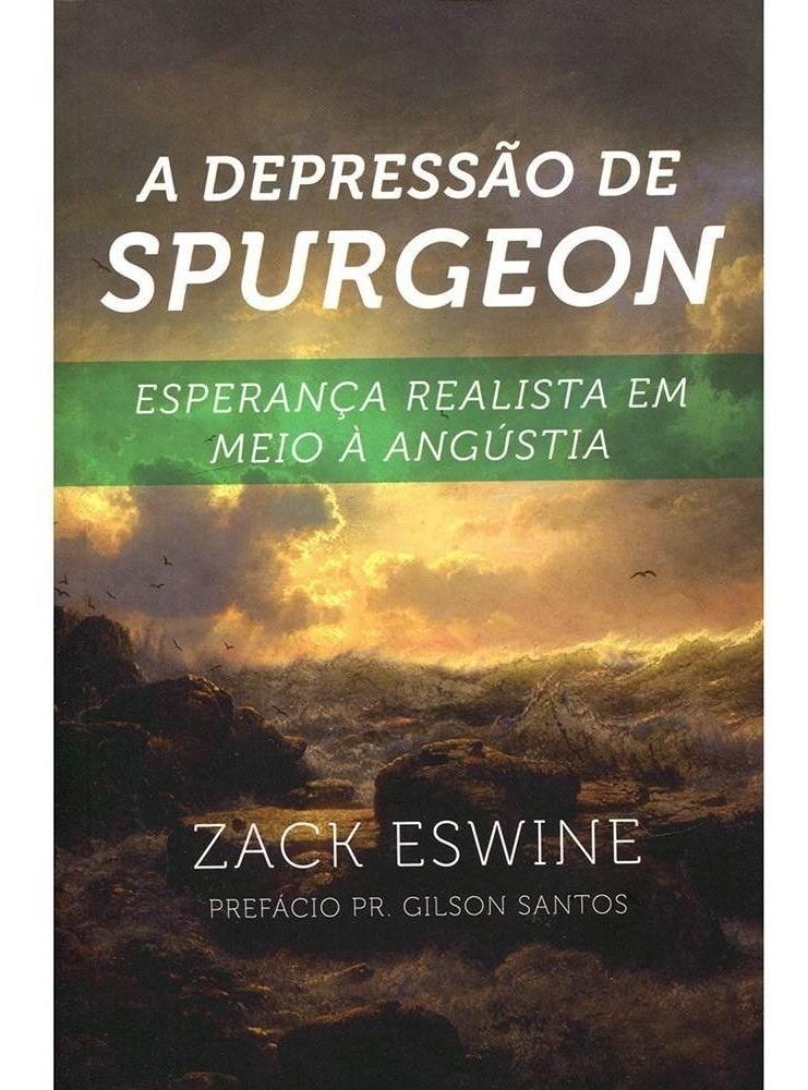 Livro A Depressão de Spurgeon