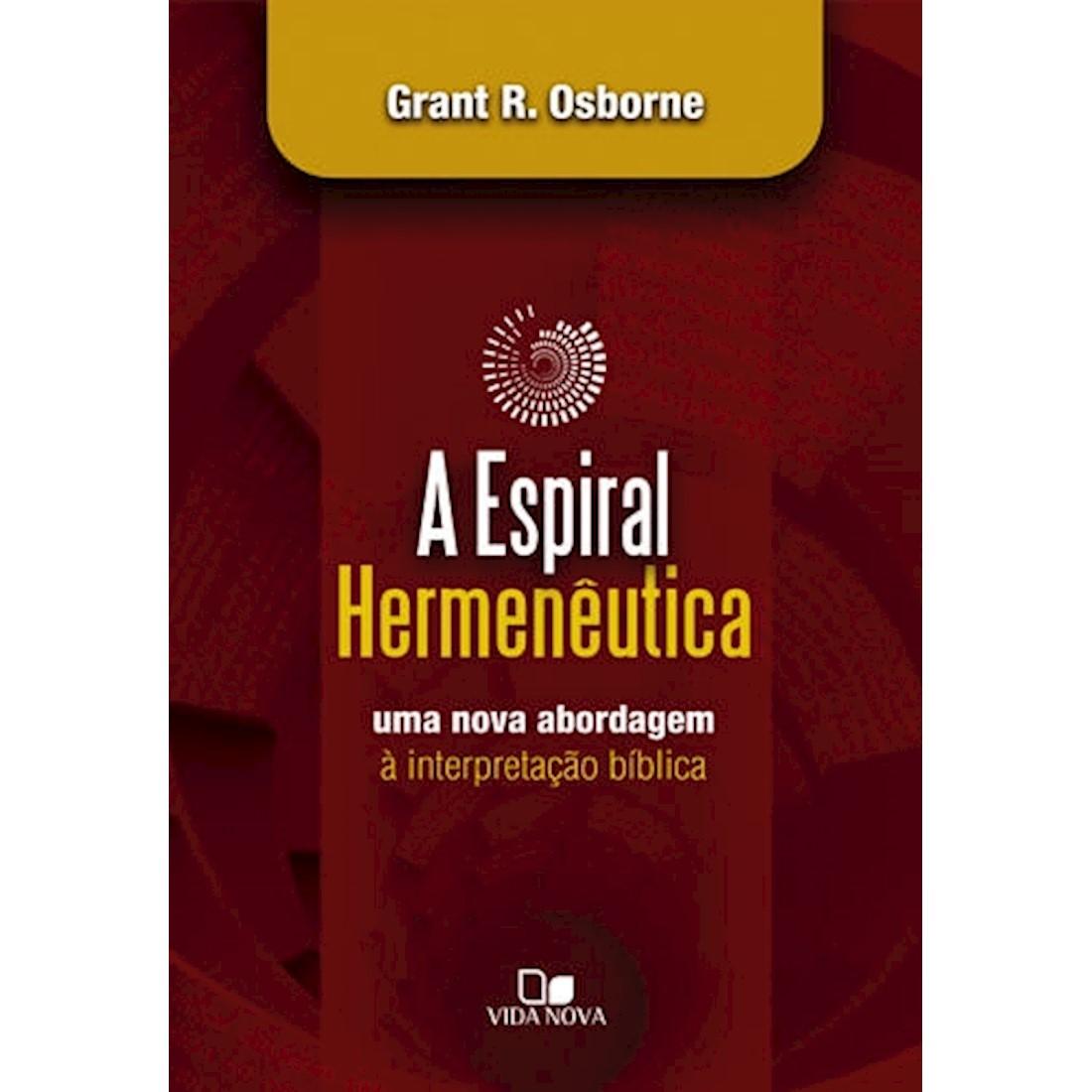 Livro A Espiral Hermenêutica