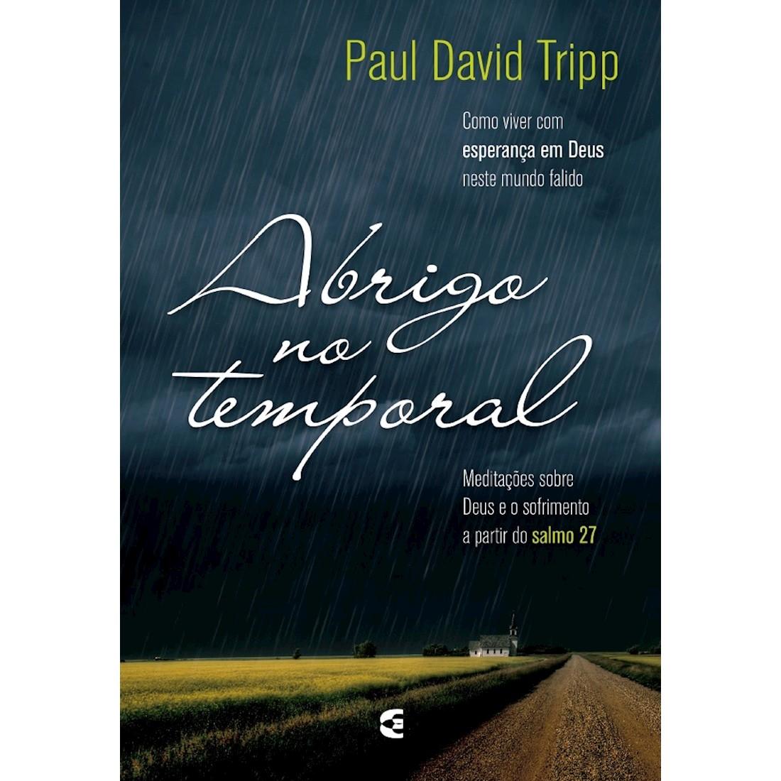 Livro Abrigo no Temporal