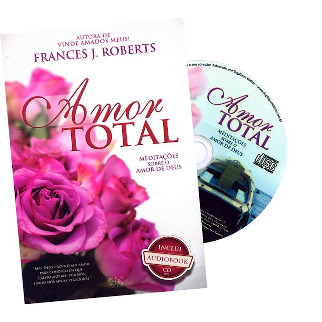 Livro Amor Total - Capa Rosa