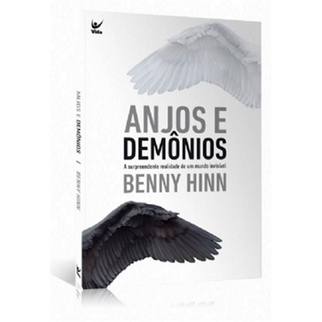 Livro Anjos e Demônios - A Surpreendente Realidade de Um Mundo Invisível