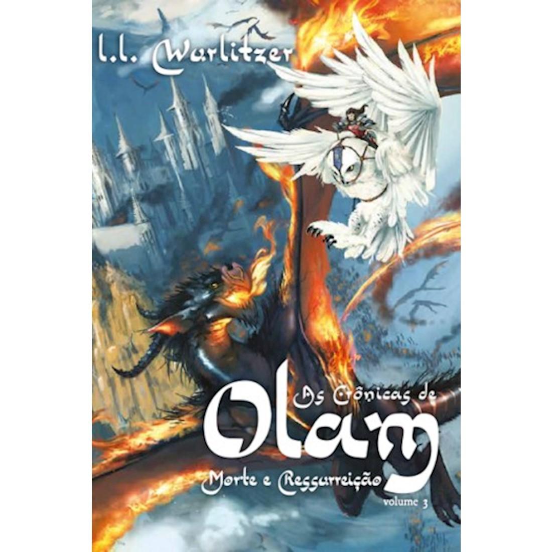 Livro As Crônicas de Olam - Volume 3