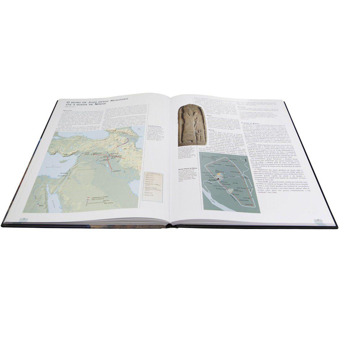 Livro Atlas Histórico e Geográfico da Bíblia - Capa Dura Ilustrada