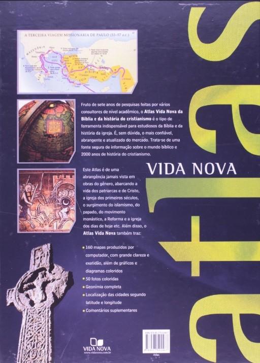 Livro Atlas Vida Nova da Bíblia e da História do Cristianismo