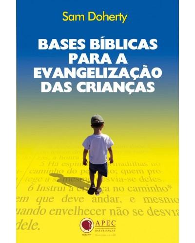 Livro Bases Bíblicas para Evangelização das Crianças