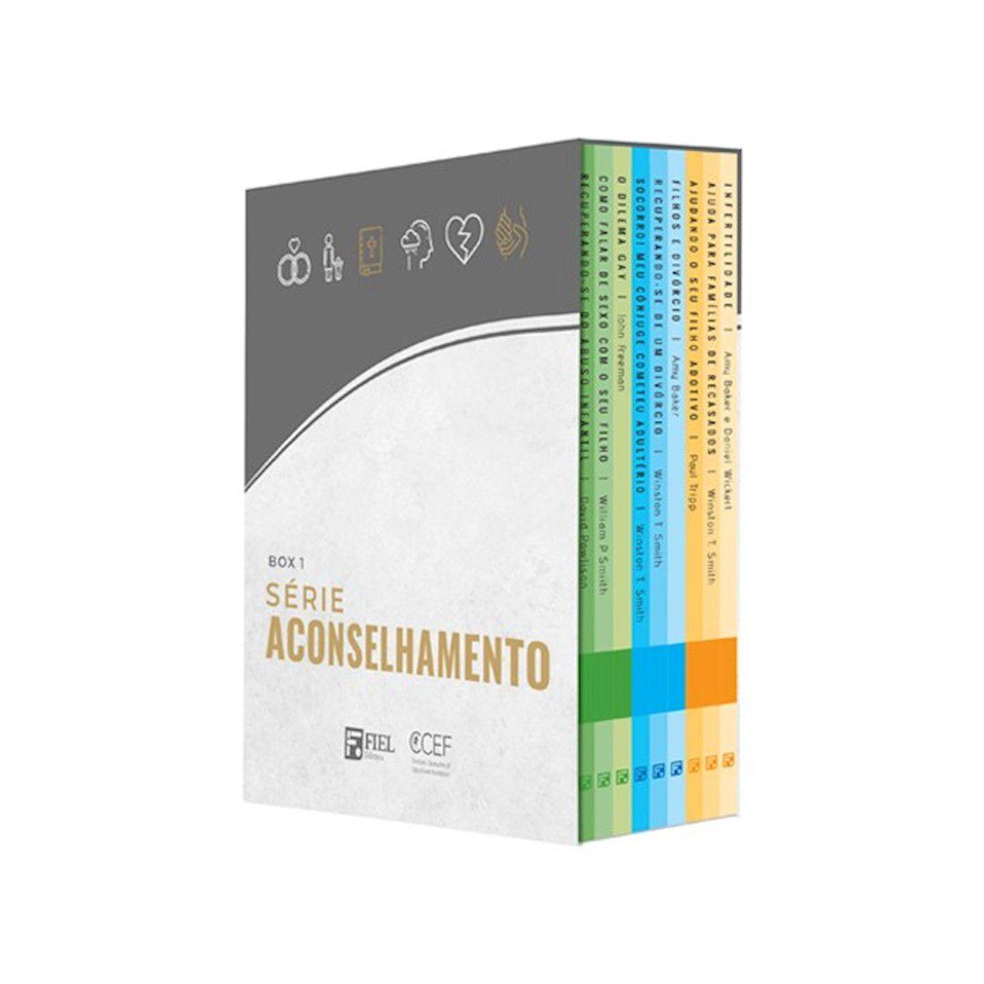 Livro Box 1: Série Aconselhamento (Nº 1 ao Nº 9)