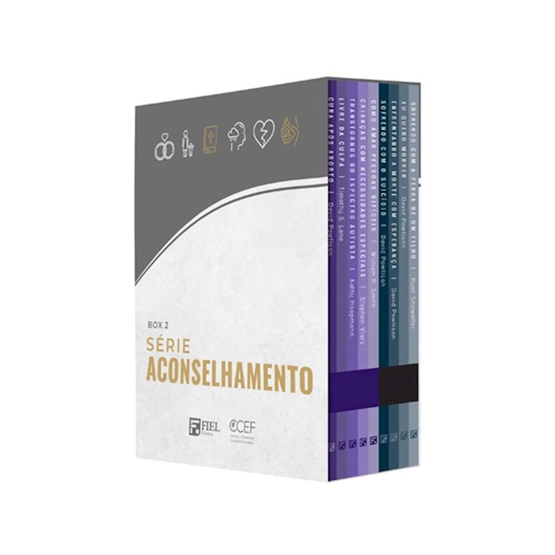 Livro Box 2: Série Aconselhamento (Nº 10 ao Nº 18)