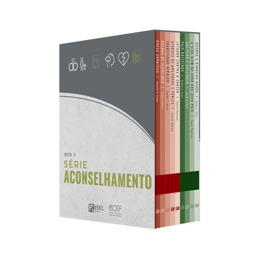 Livro Box 3: Série Aconselhamento (Nº 19 AO Nº 27)