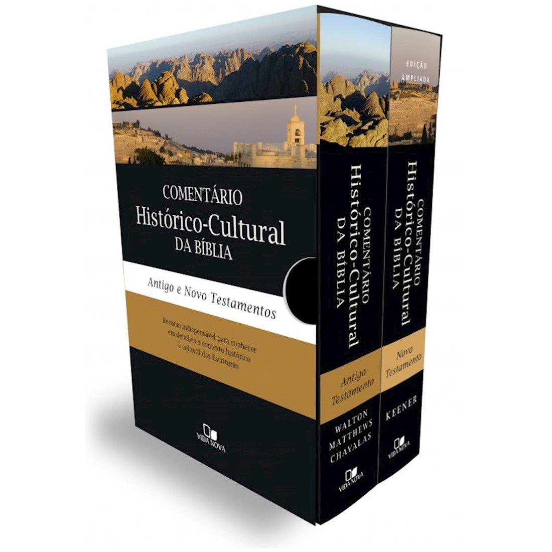 Livro Box Comentário histórico-Cultural da Bíblia (AT e NT)