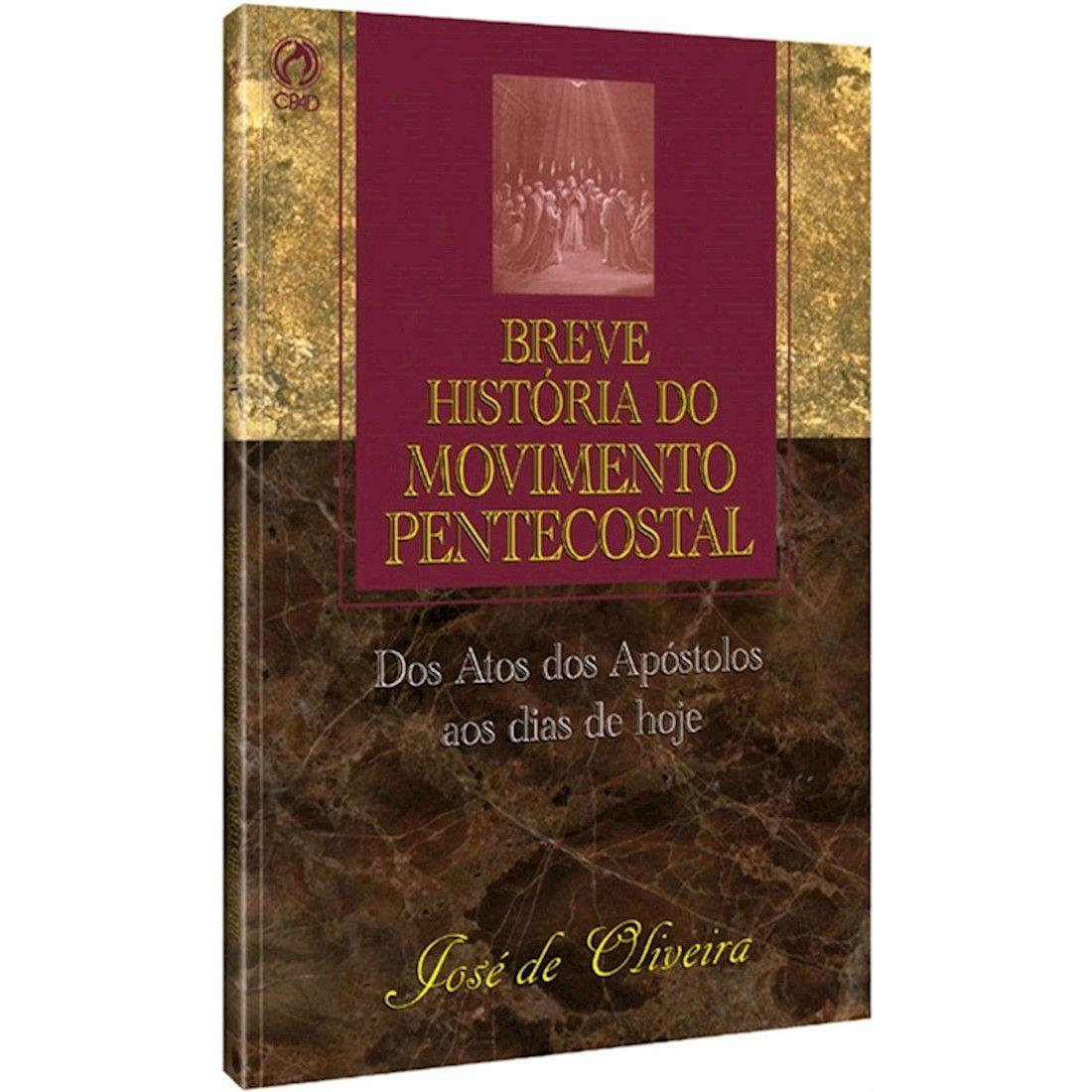 Livro Breve História do Movimento Pentecostal