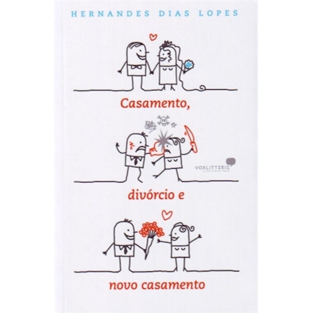 Livro Casamento, Divórcio e Novo Casamento