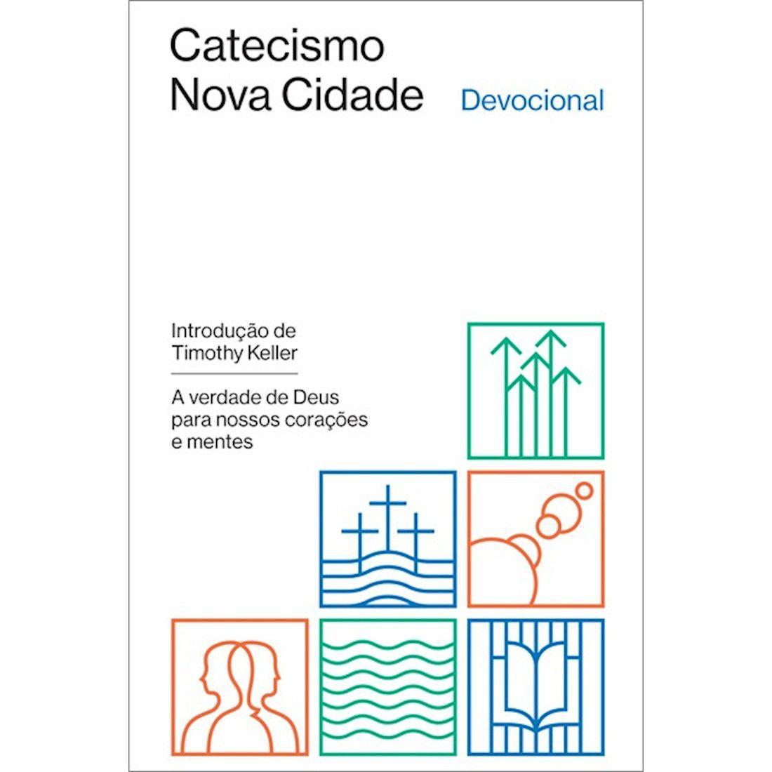 Livro Catecismo Nova Cidade Devocional