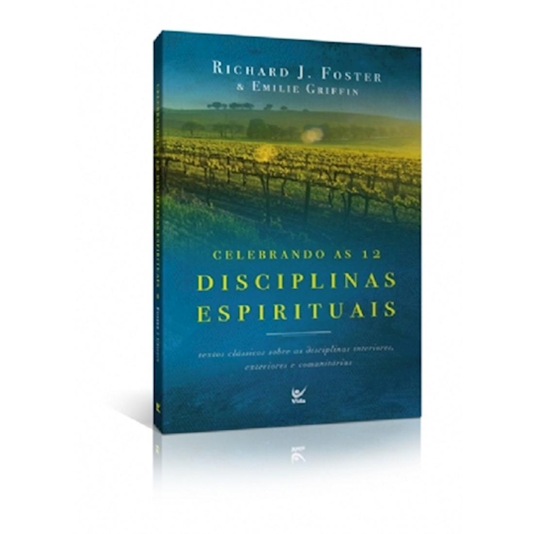 Livro Celebrando As 12 Disciplinas Espirituais