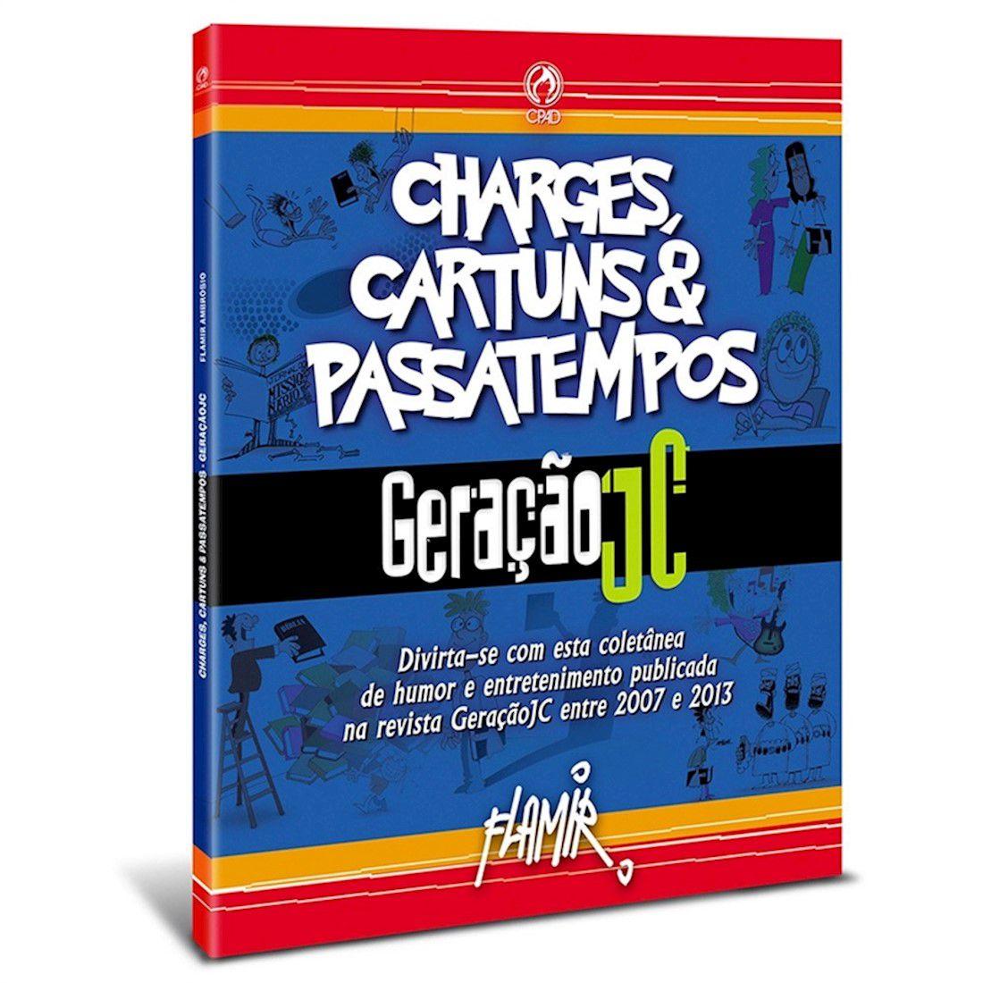 Livro Charges, Cartuns e Passatempos
