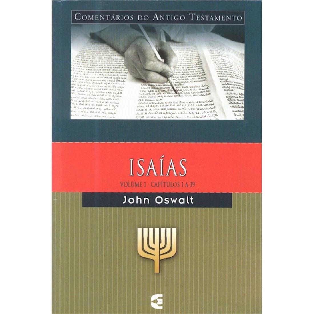 Livro Comentário Bíblico do Antigo Testamento - Isaías - Vol. 1