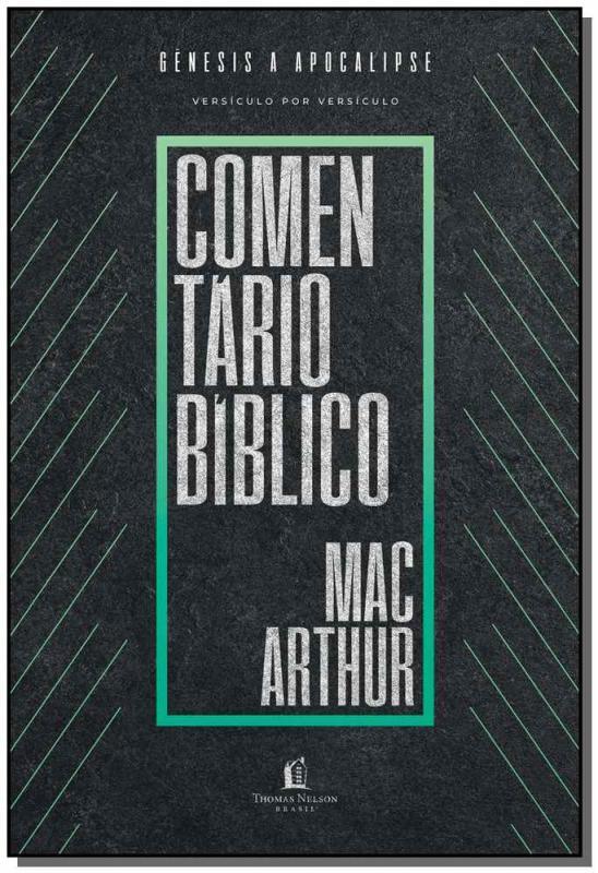 Livro Comentário Bíblico MacArthur