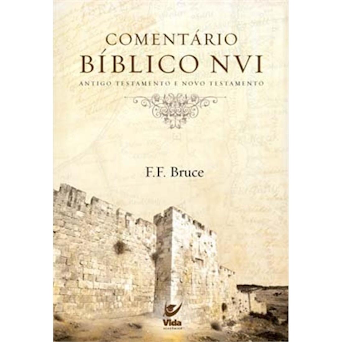 Livro Comentário Bíblico NVI: Antigo e Novo Testamento