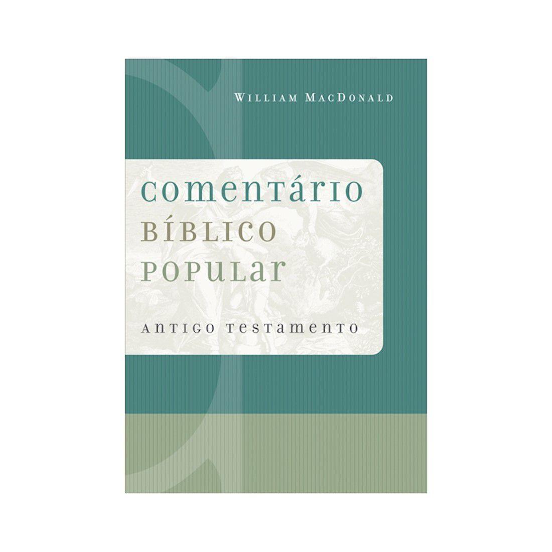 Livro Comentário Bíblico Popular - Antigo Testamento