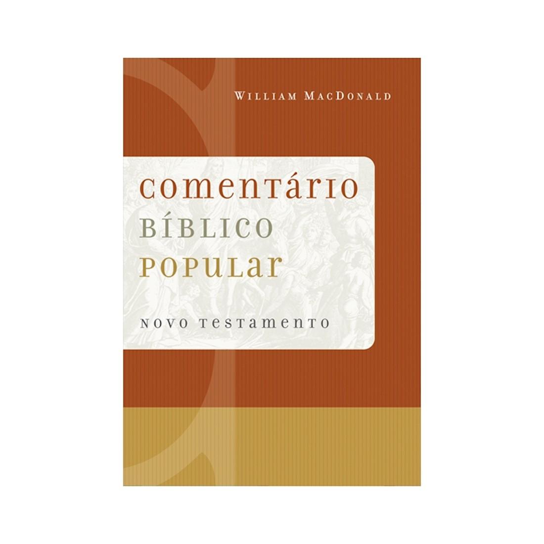 Livro Comentário Bíblico Popular - Novo Testamento