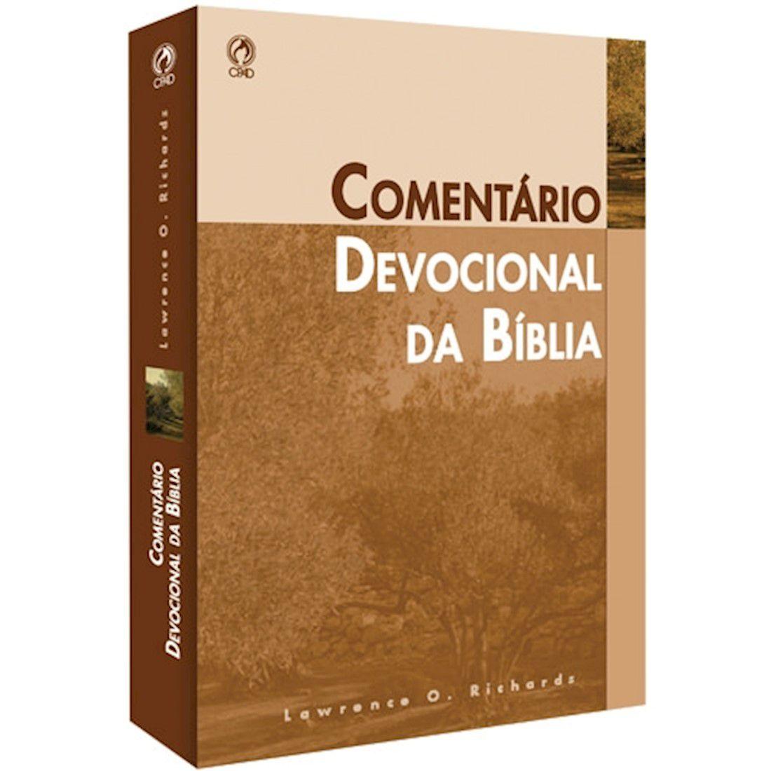 Livro Comentário Devocional da Bíblia