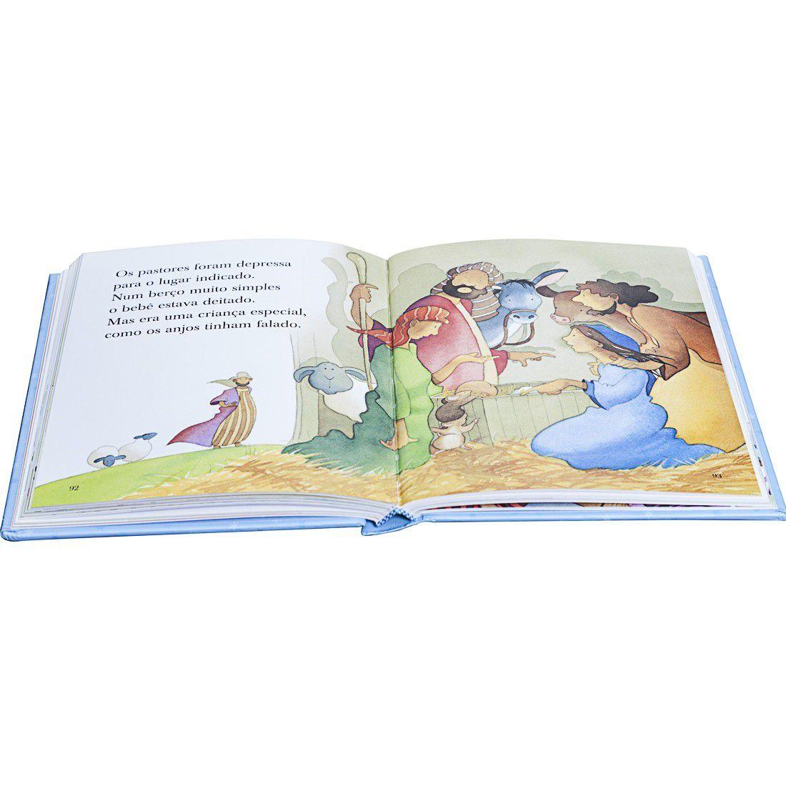 Livro Conta pra Mim - Histórias da Bíblia - Azul