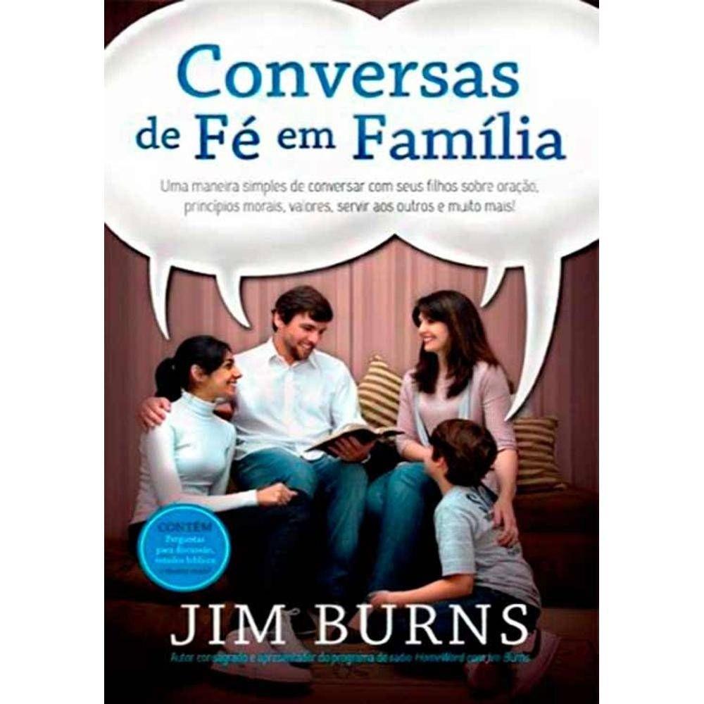 Livro Conversas de Fé em Família