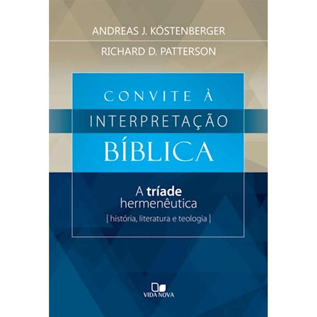 Livro Convite à Interpretação Bíblica