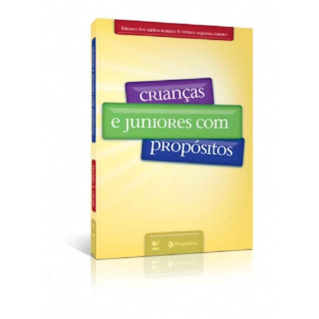 Livro Crianças e Juniores com Propósitos