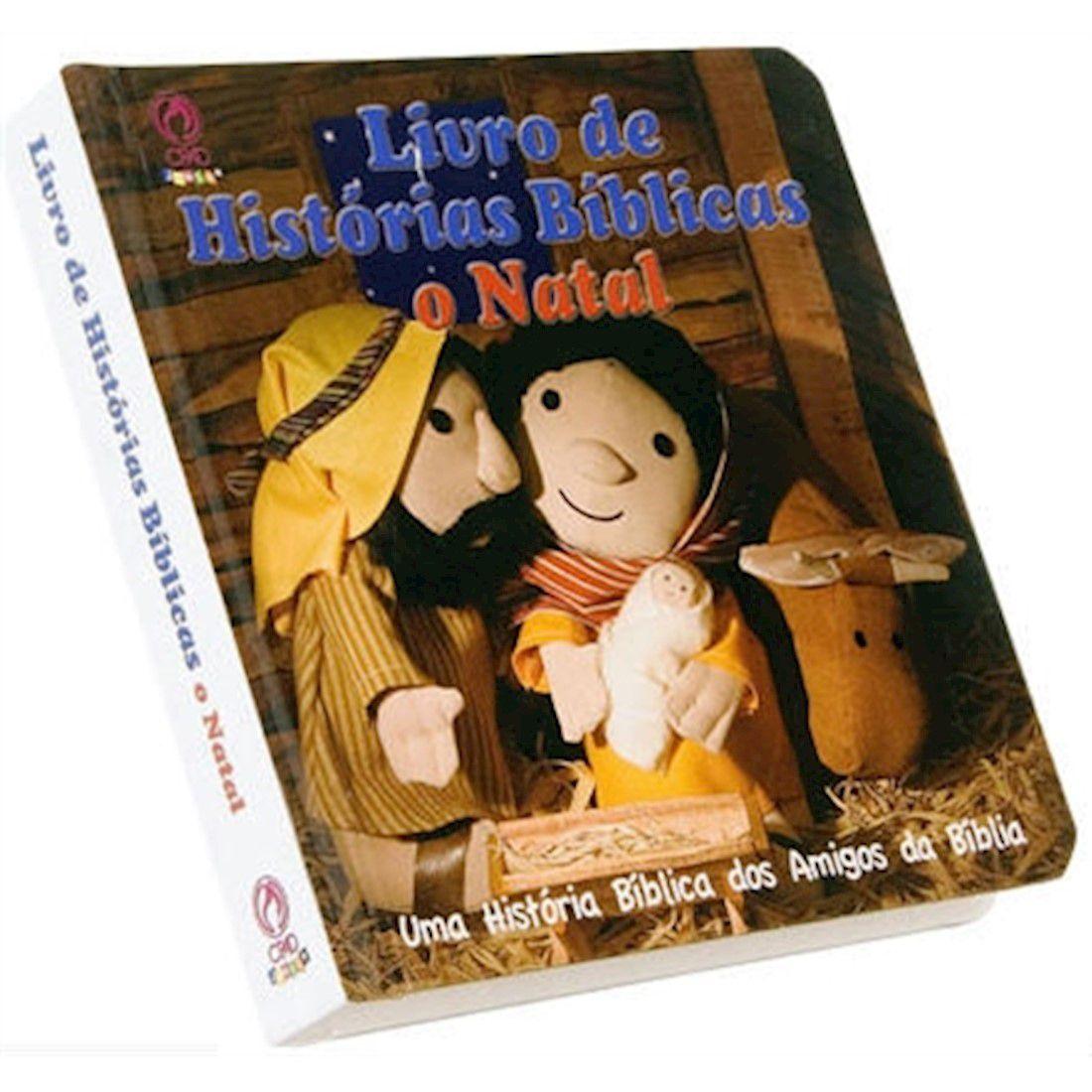 Livro de Histórias Bíblicas - O Natal - Produto Reembalado