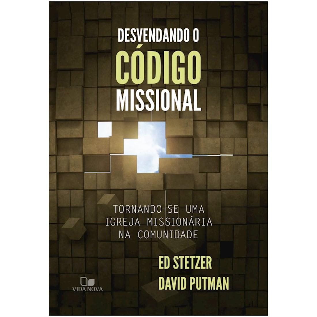 Livro Desvendando o Código Missional
