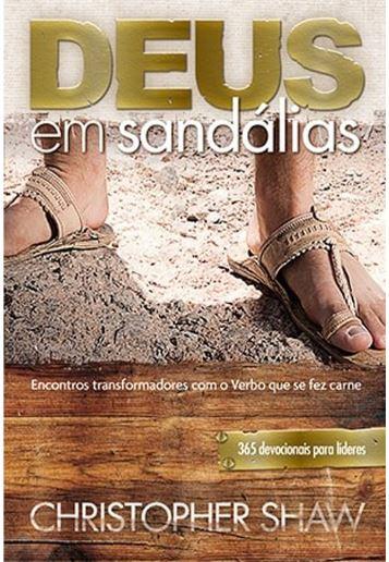 Livro Deus em Sandálias