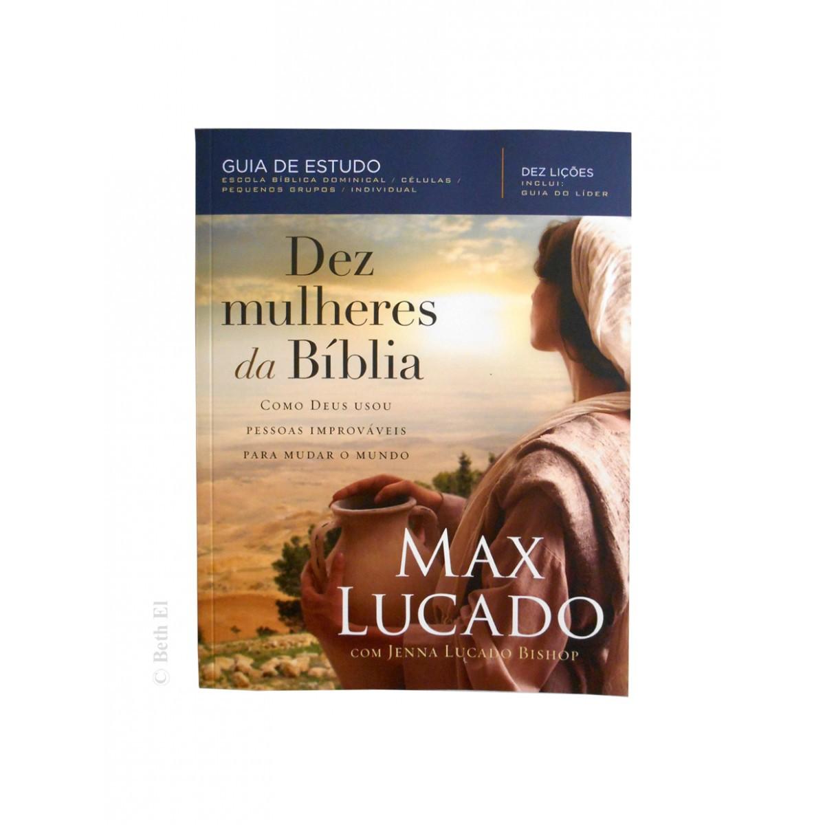 Livro Dez Mulheres da Bíblia - Guia de Estudo