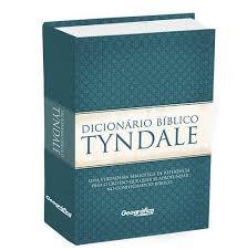 Livro Dicionário Bíblico Tyndale - Capa Dura Azul